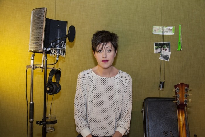 Press Shots for Tracey Thorn's album 'Tinsel and Lights' (2012).